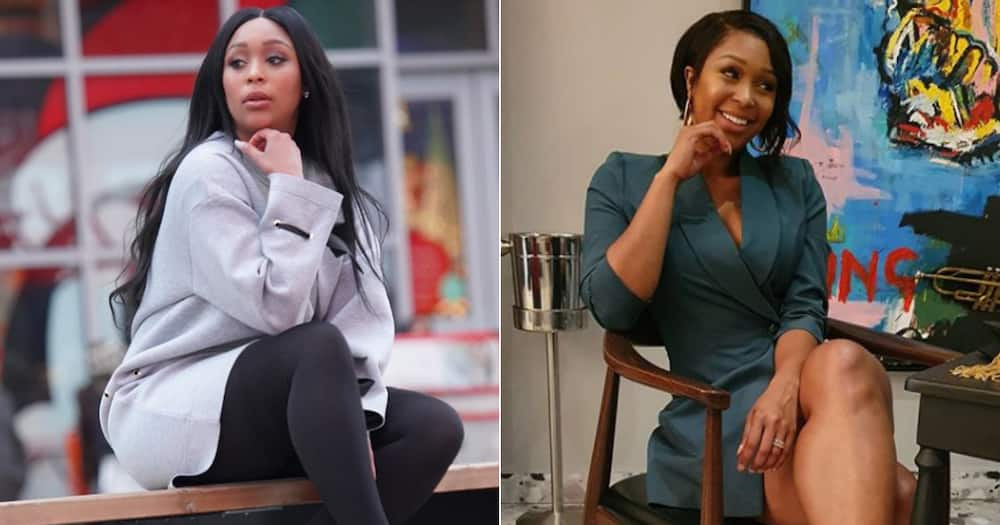 Minnie Dlamini shows love to friend Nandi Madida on Women's month