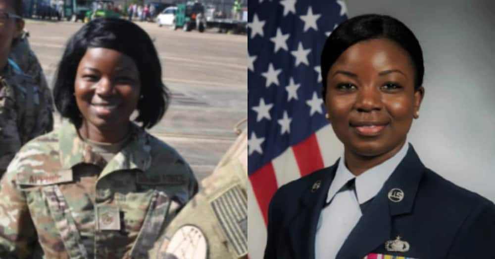 Master Sgt. Eva Appiah: Meet the Ghanaian-American appointed as Legislative Fellow in the US gov't
