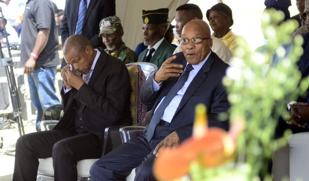 Hilarious Video of Supra Mahumapelo at Church Gives Mzansi Jacob Zuma Vibes