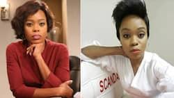 Lusanda Mbane says goodbye to her character Boniswa Langa on 'Scandal!'