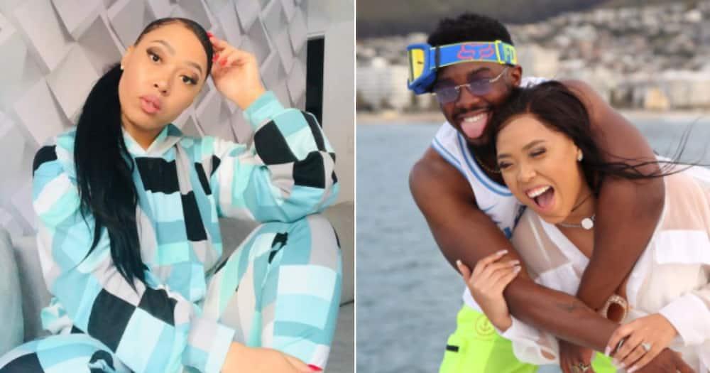 Simz Ngema, Tino Chinayi, relationship over, fans confused