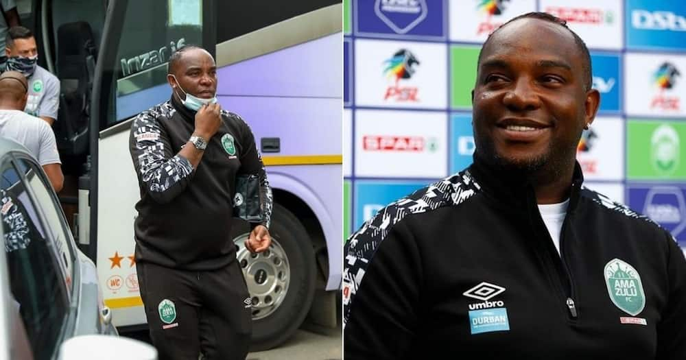 AmaZulu coach Benni McCarthy has attacked his critics after securing the second spot. Image: @BenniMac17/Instagram