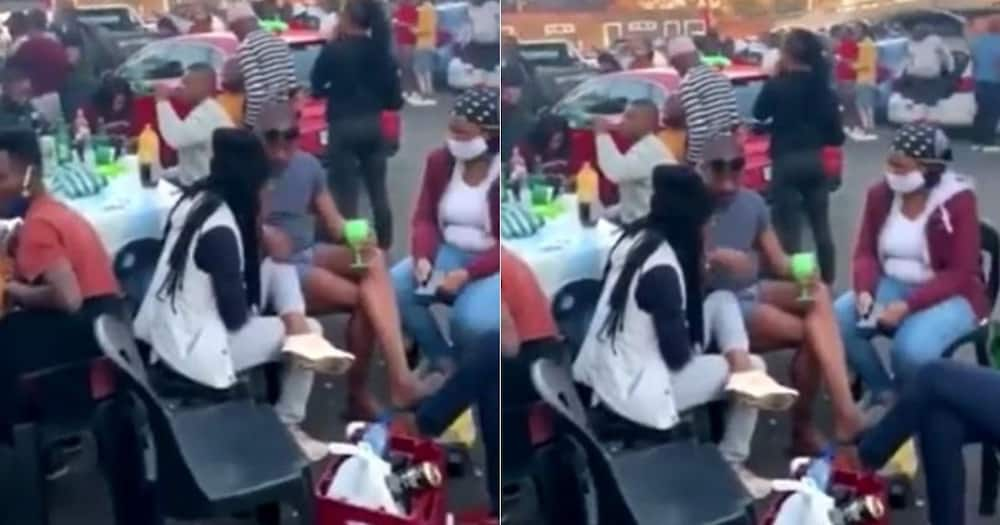 Videos show no social distancing at Kwa Mai Mai in Johannesburg