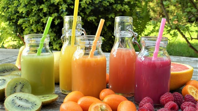 Fruit recipe for smoothies