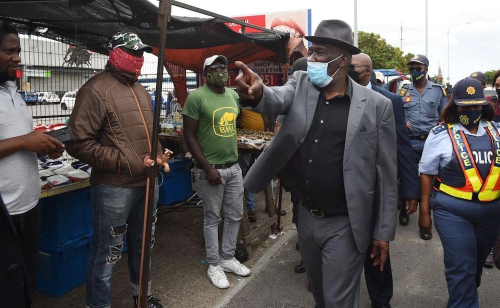 Police Minister, Bheki Cele, Arrest Lockdown, Nkandla, Jacob Zuma, Constitutional Court, Sisi Khampepe