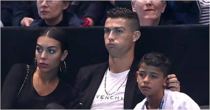 Cristiano Ronaldo treats Georgina and son to dinner flown in by jet