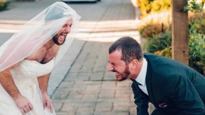 Couple Goals: Bride has sweet surprise for groom on wedding day, SA in stitches