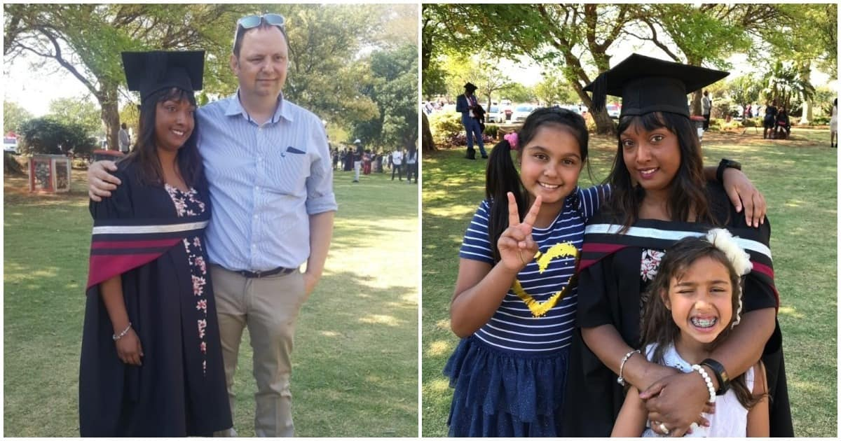 Journalist Barry Bateman's wife graduates with a master's degree