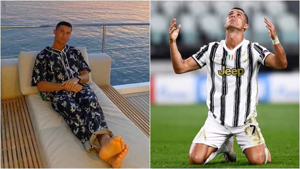 Cristiano Ronaldo: Fans troll CR7 for wearing a cheap £2k pyjamas