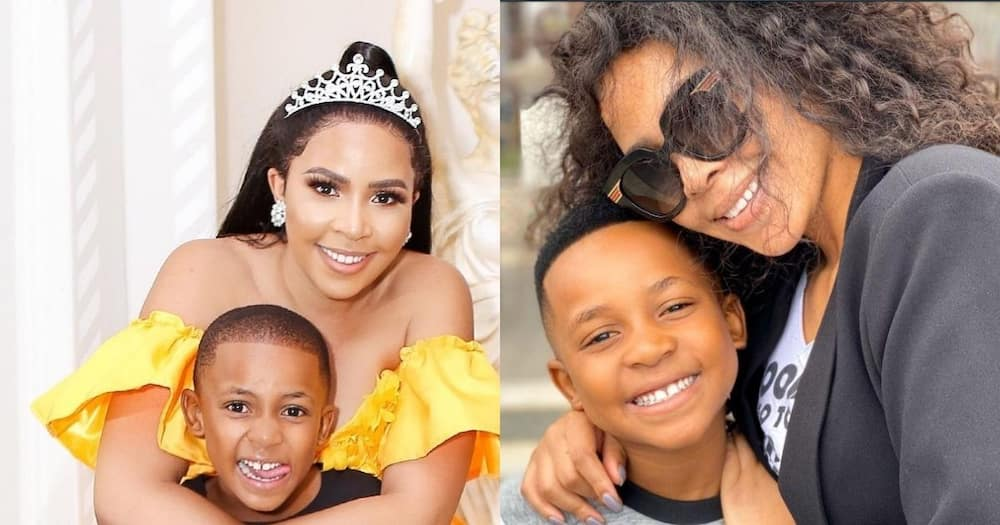 Prince Kaybee's girlfriend, Brown, shares rare pics of her super-cute son