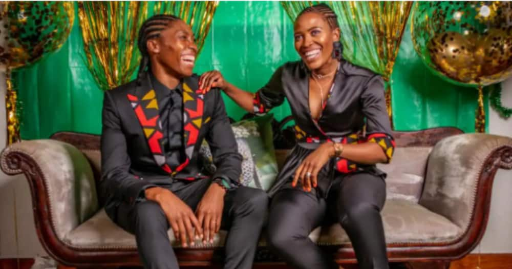 Caster Semenya, family, expecting baby, baby number two, growing