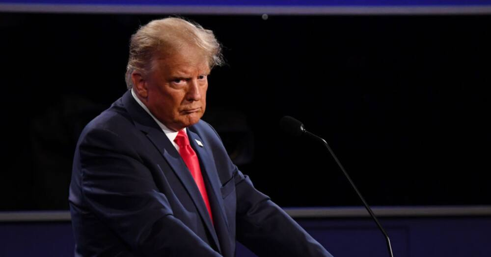 Donald Trump doubles down on voter fraud claims in a barrage of tweets. Photo credit: Getty Images