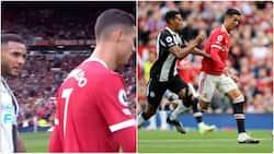 3 Newcastle players asked for Cristiano Ronaldo's shirt despite scoring brace against them