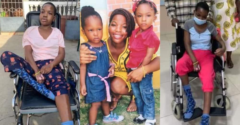 Bernice Amago: Teacher Knocked by Truck in 2019 Still Unable to talk & walk; Needs GHc116k