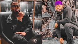 Prince Kaybee posts snap of custom designed Merc, claps back at trolls