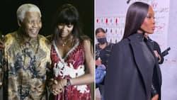 "Naomi Campbell remembers Tata Madiba: ""My unconditional hero"""