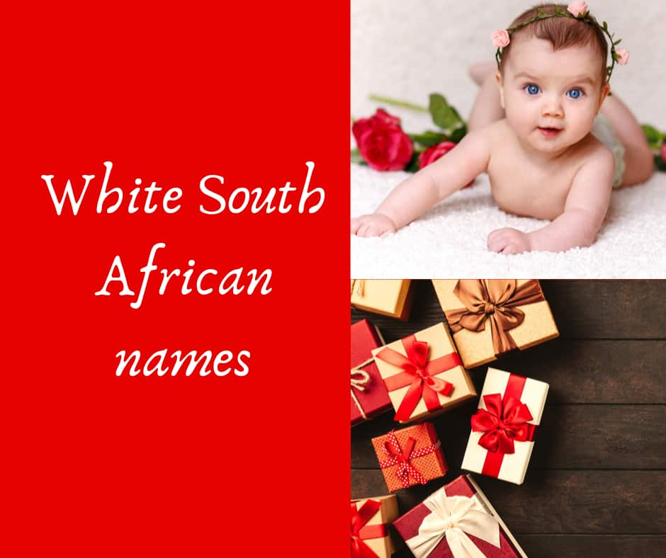 white south african names