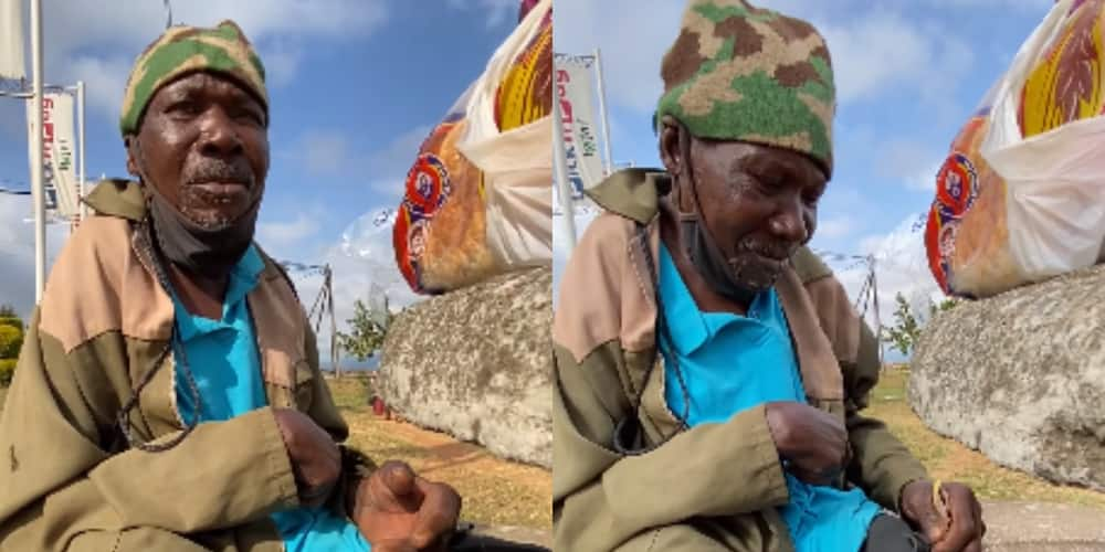 BI Phakathi Melts Hearts After Feeding Hungry Man and Giving Him Cash