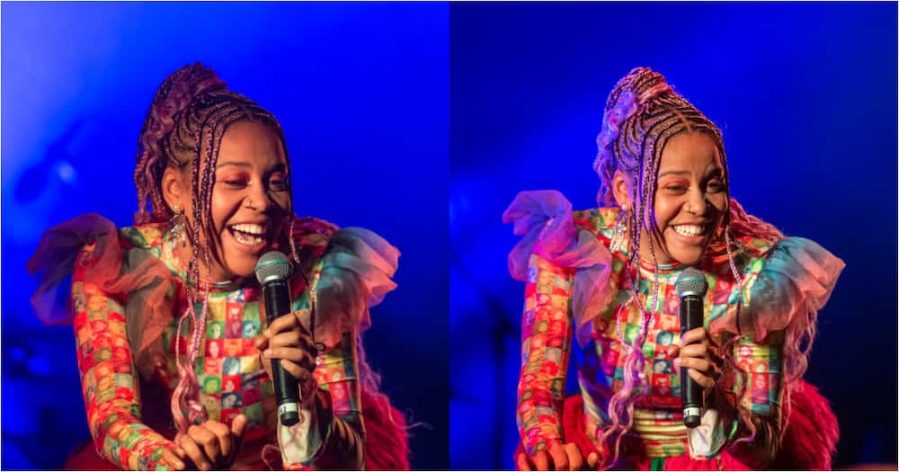 Sho Madjozi gifts local super fan with some moolla
