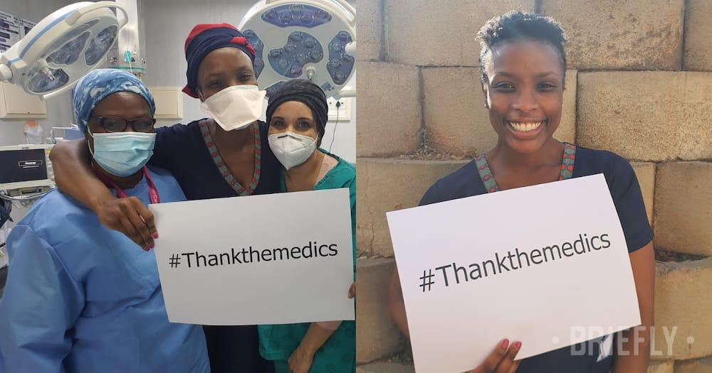 """""""Time to thank the medics"""": Dr Ngema calls on SA to thank health staff"""