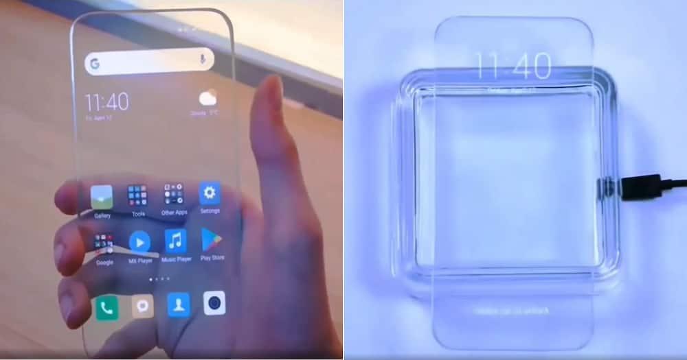 Phone, Transparent, See-through, Translucent, Social media reactions