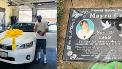 """Man buys 1st car, pays tribute to late mom: """"She's here to say she loves it"""""""