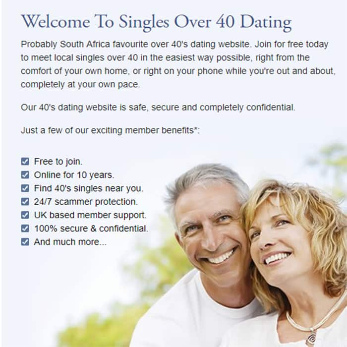 Singles dating sites in south africa