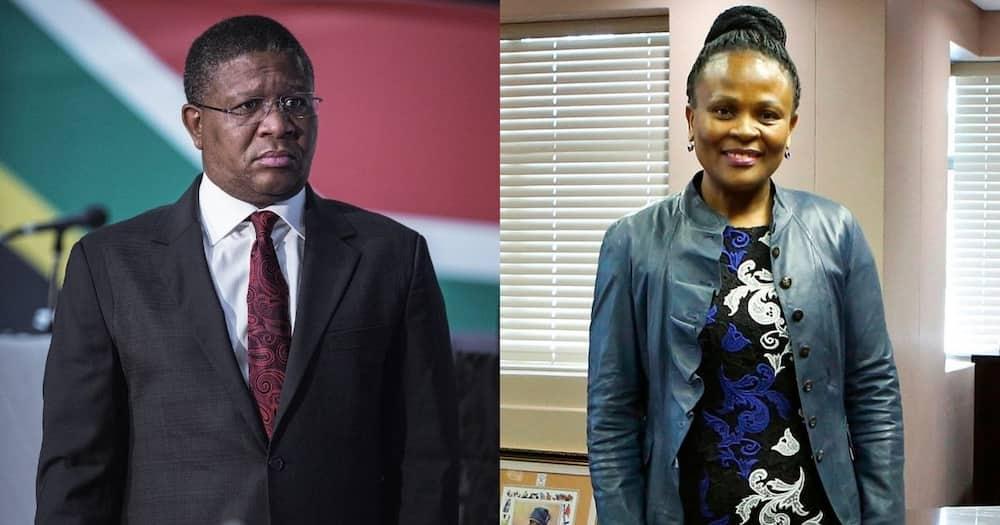 Busisiwe Mkhwebane: PP opens case of crimen injuria against Mbalula