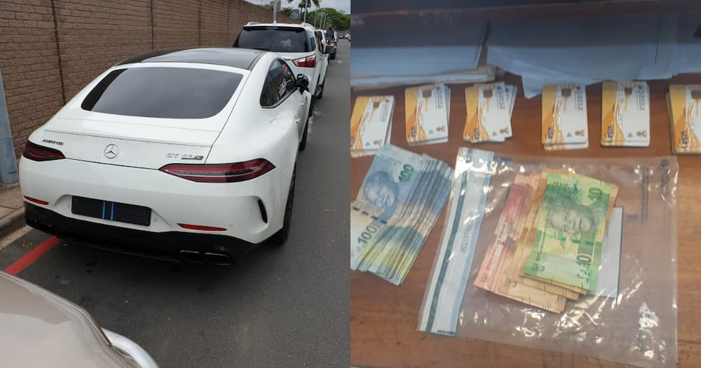KZN Fraudster and Owner of Rare Mercedes, Busted with 70 SASSA Cards