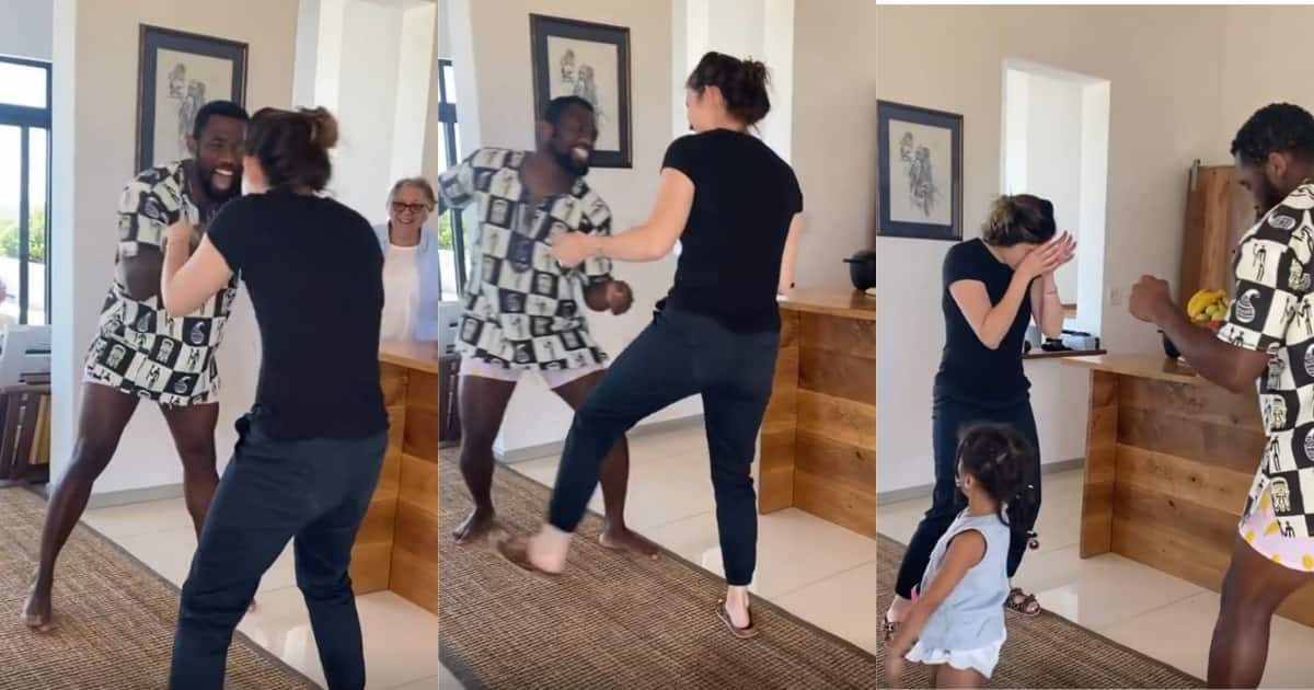 Rachel still can't dance, Siya shared a video of Rachel's latest moves - Briefly