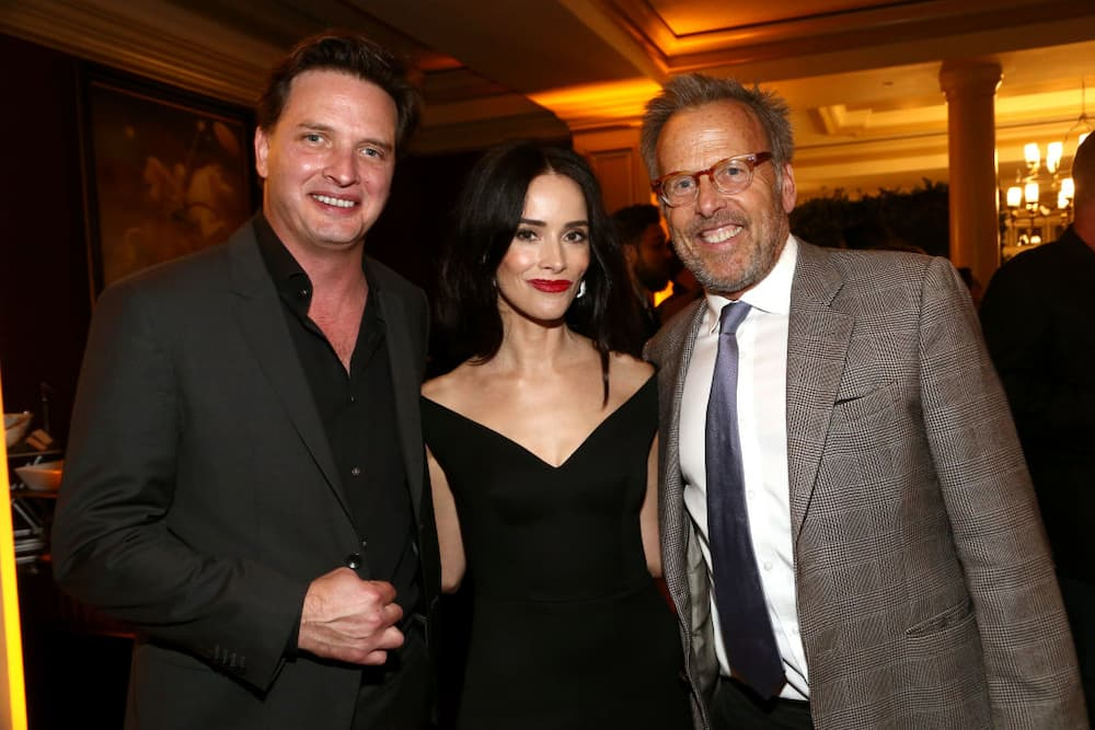 Aden Young, Abigail Spencer and Mark Johnson