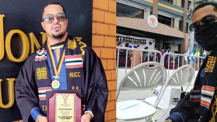 Van Vicker: Actor completes university as best student 26 years after completing school, photos drop
