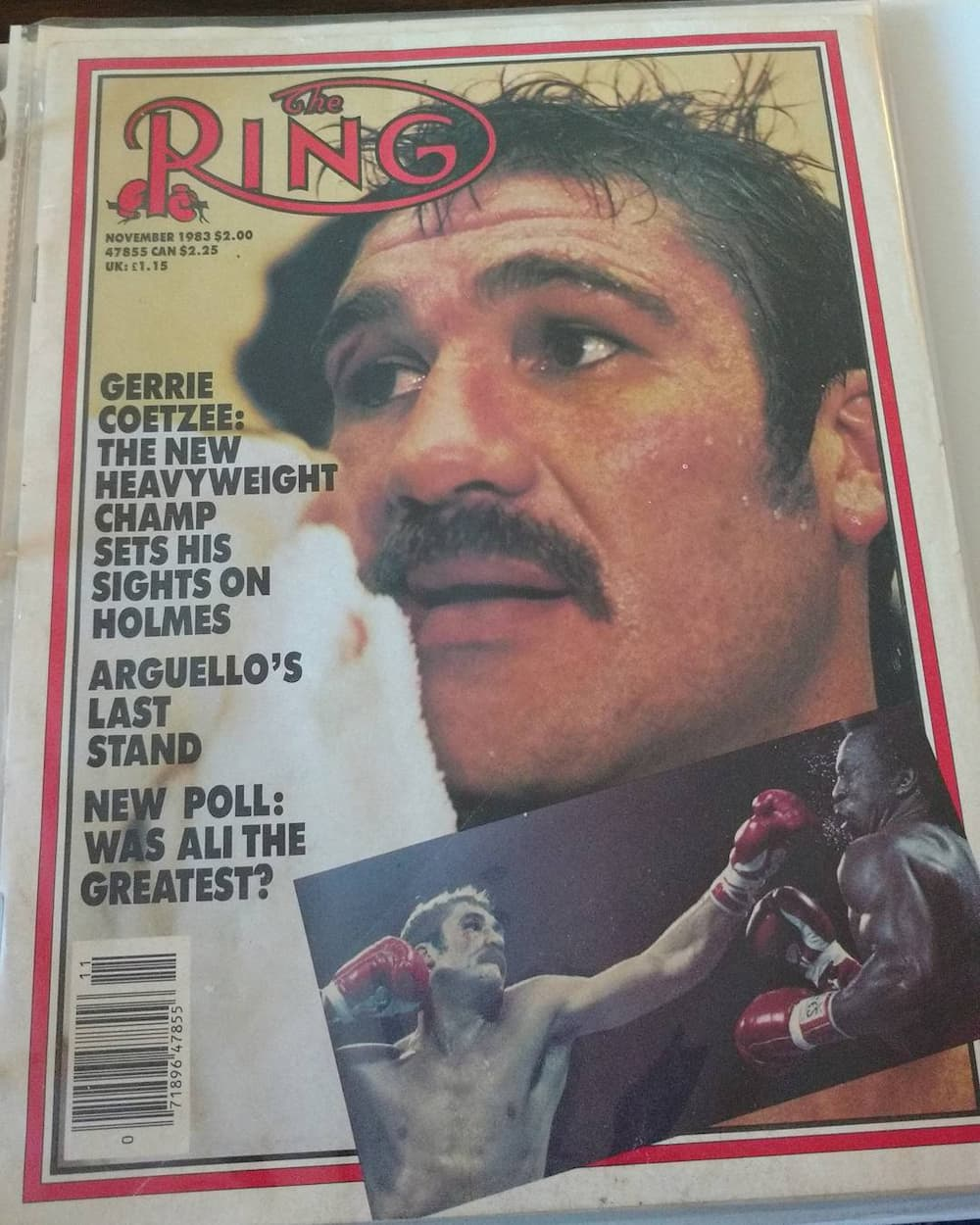 Gerrie Coetzee age, measurements, children, wife, martial arts, total fights, wins/loses, facts and where is he today