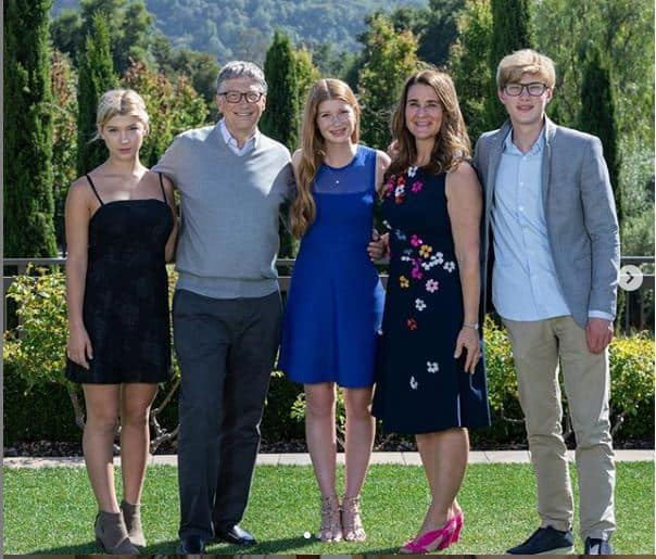 Bill Gates Familie