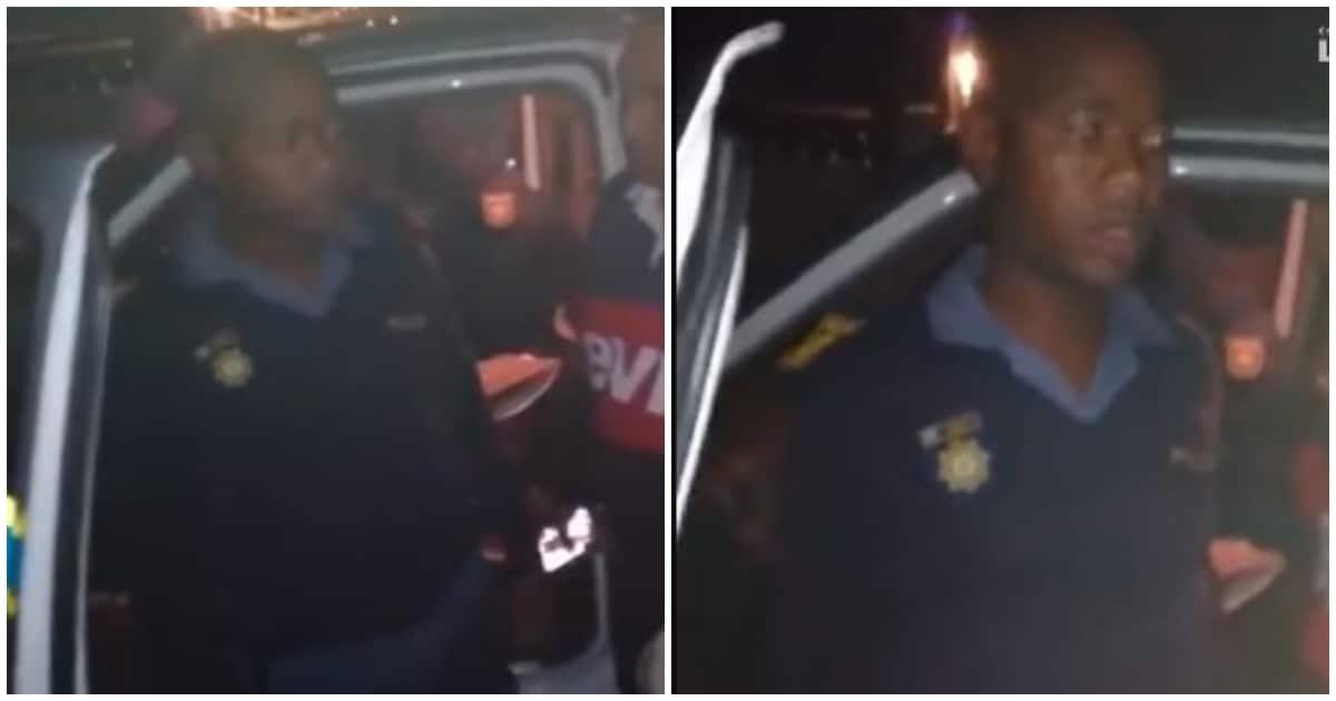 Cop under investigation after drunk video of him went viral