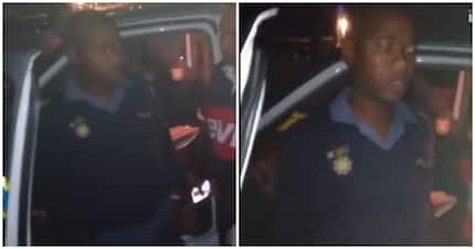 SA left divided after another video went viral of a drunk on-duty cop