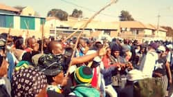 Diepkloof residents protest against drugs, foreign nationals on Youth Day