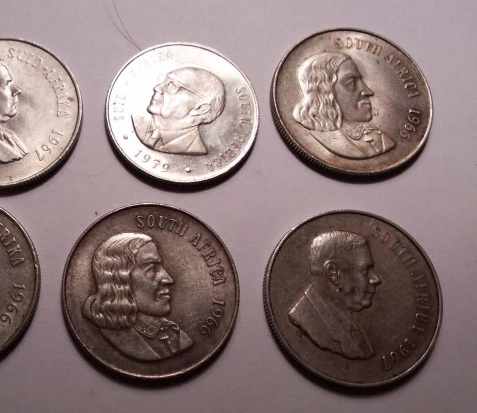 old south african coins price list pdf
