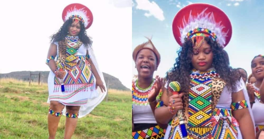 A stunning woman shared her amazing Zulu heritage