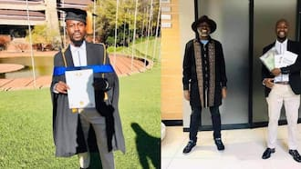 """""""It's possible"""": Man arrested during #FeesMustFall protests graduates"""
