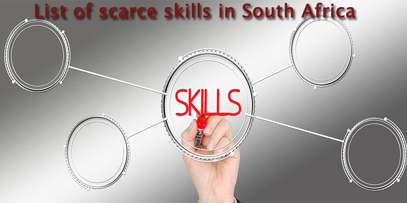 2019 comprehensive list of scarce skills in South Africa