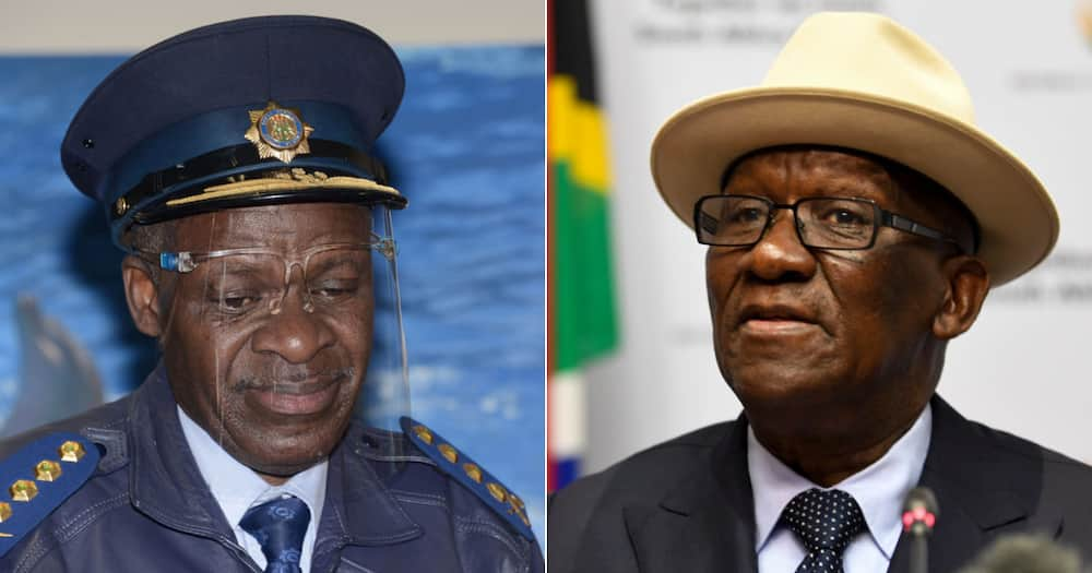 Police, Minister, Bheki Cele, Khehla Sitole, National Police Commissioner, South African Police Service, SAPS