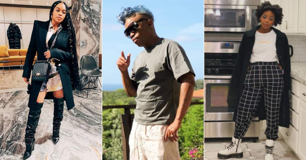 Somizi shows love to Thuso Mbedu and Nomzamo Mbatha for work in the US