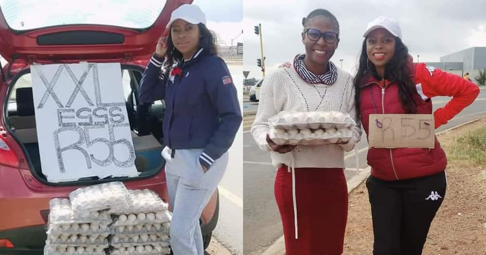 Chasing the Bag: Local Woman's 'Eggciting' Egg Hustle Inspires Mzansi