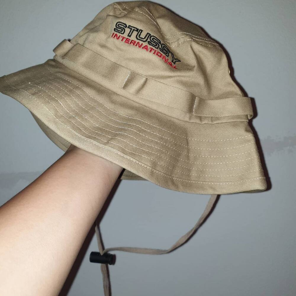 Hats with chin straps