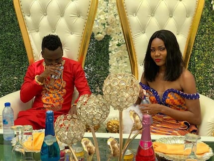 Ghana soccer stars David Accam and Florence Dadson get married