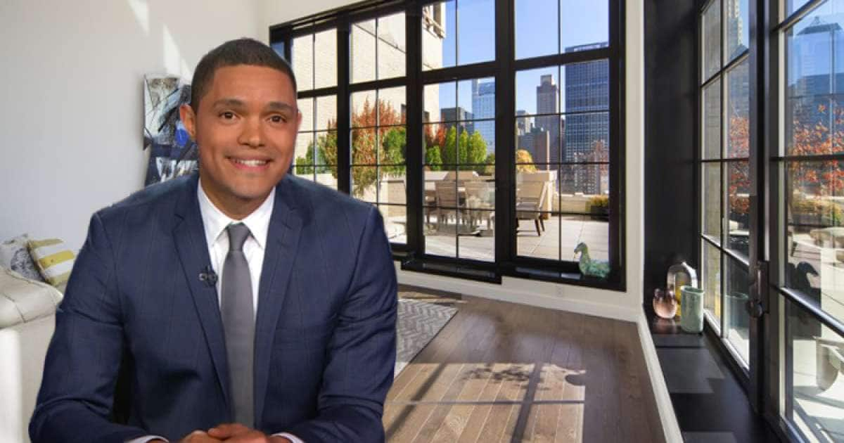 Inside Trevor Noah apartment in New York trevor noah apartment  trevor noah's house trevor noah girlfriend
