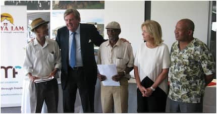 Billionaire Johann Rupert sponsors title deeds for 70 Karoo residents