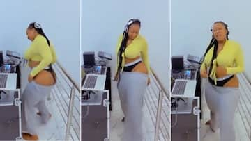 'Fully booked': Video of another female DJ tearing it up in underwear has SA hurting