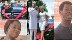 Woman gifts hubby a merc for 7th anniversary, says she would give him a jet too
